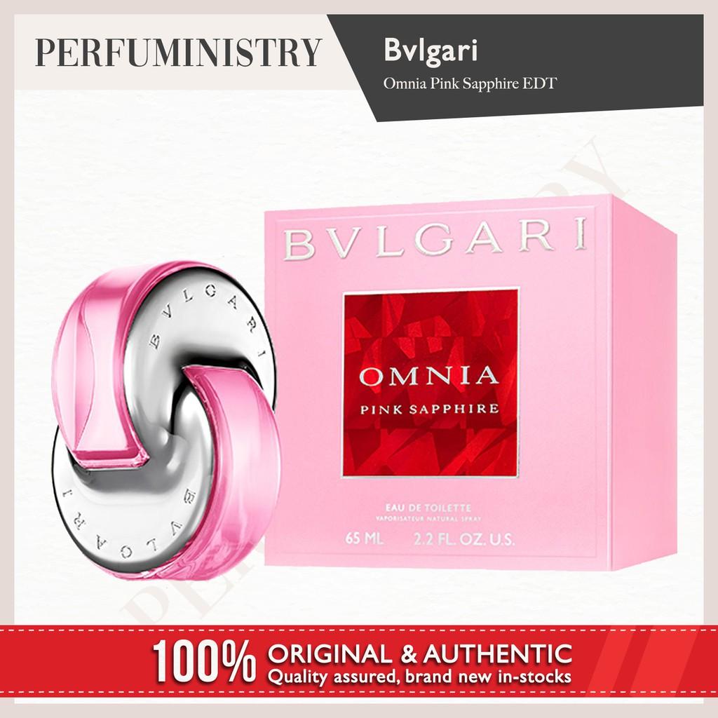 Bvlgari Omnia Pink Sapphire Edt For Women 65ml Shopee Singapore Amethyste 65 Ml Non Box