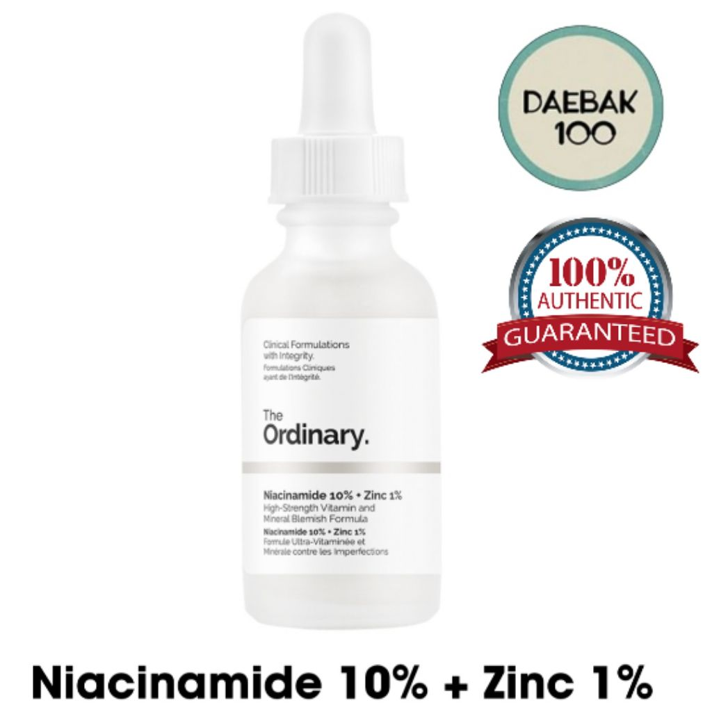 The Ordinary Niacinamide 10% + HA (Authentic)