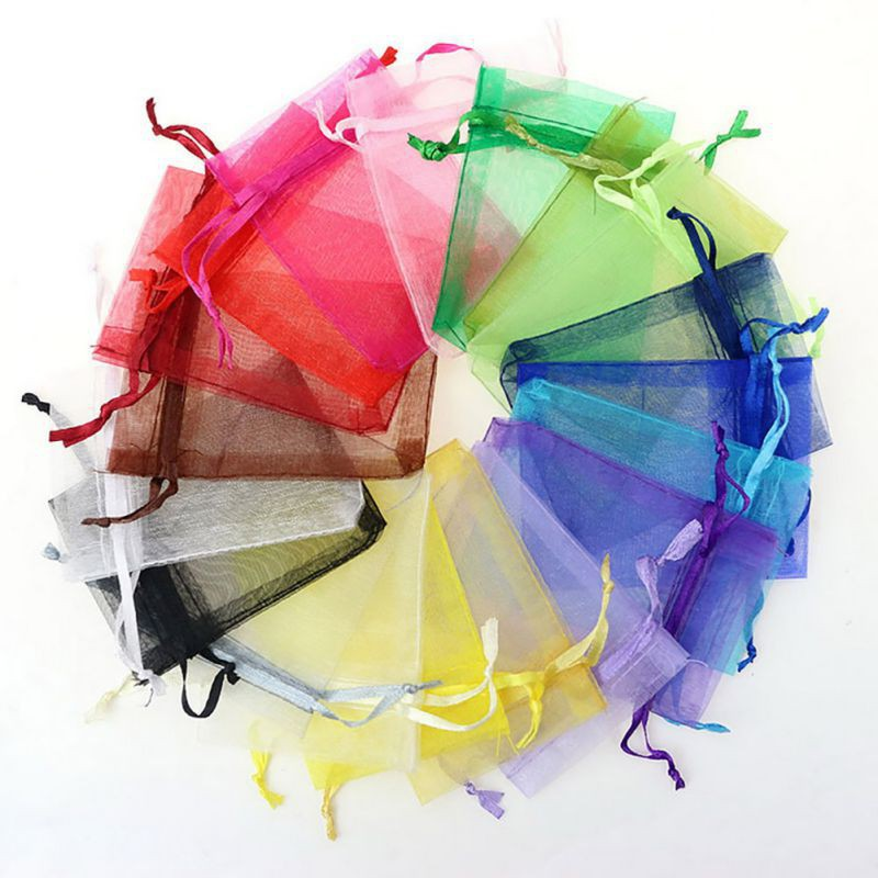 Gift Bags Pouches Organza Jewelry