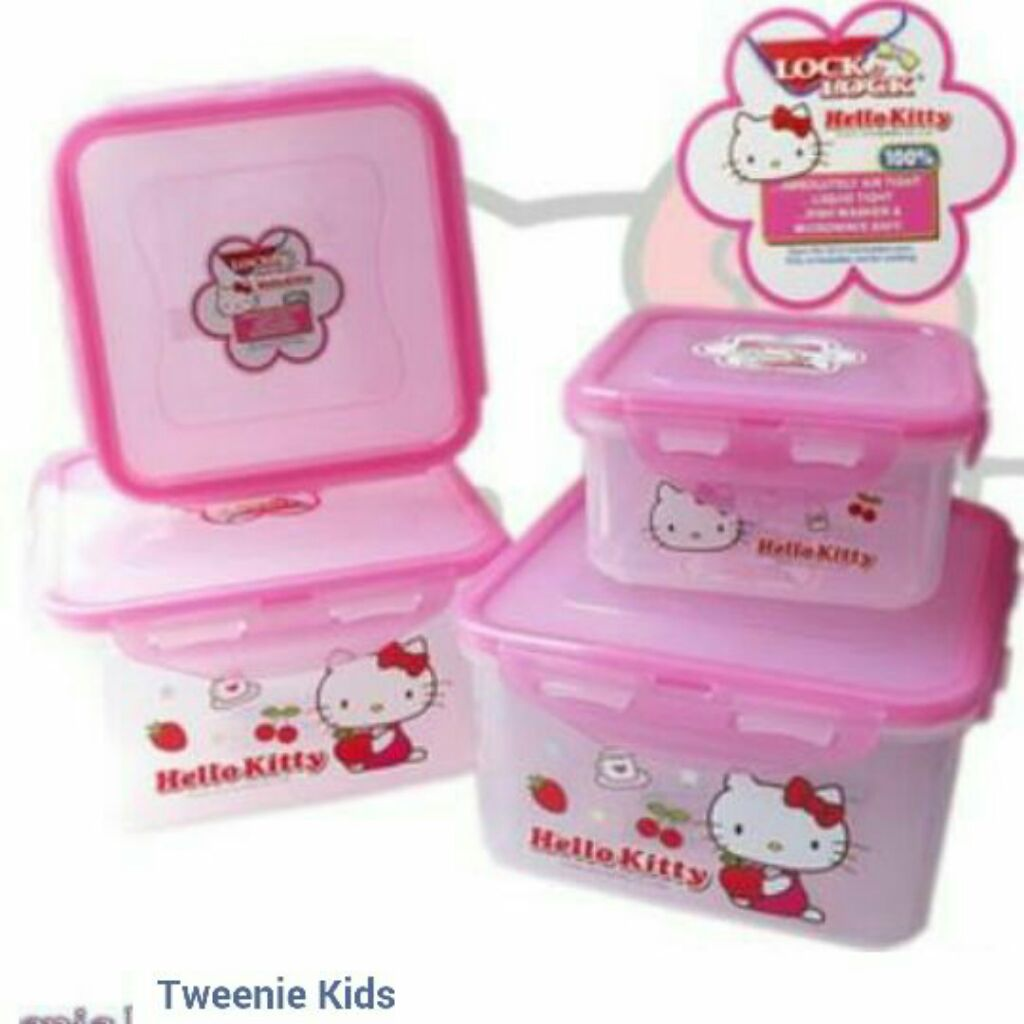 Kids Spoon And Fork Set Shopee Singapore Lock Ampamp Hello Kitty