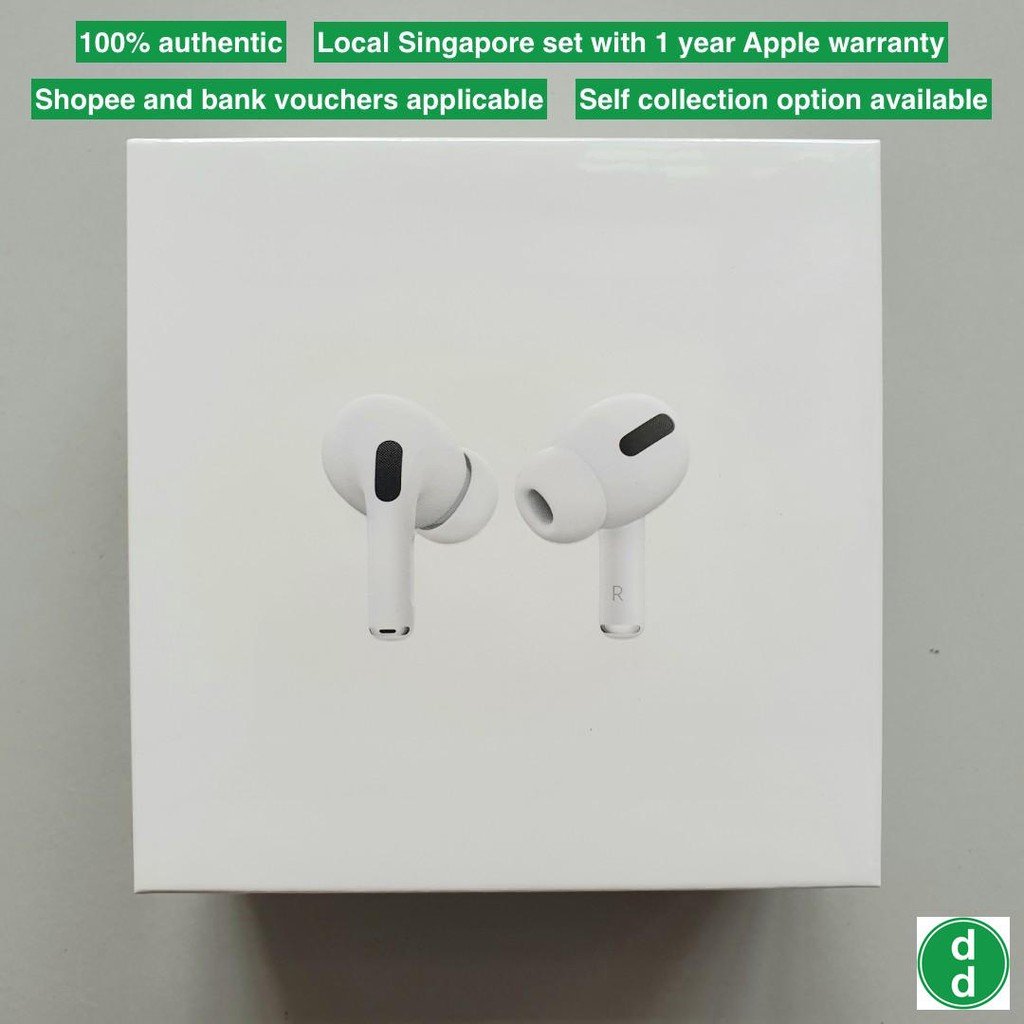 airpods pro box sealed