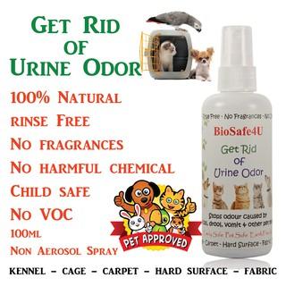 Pet Urine Deodorizer (100% Natural Ingredients)- 100ml