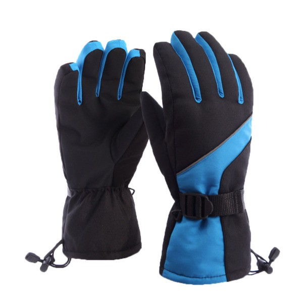 Children Ski Gloves Winter Waterproof Anti-cold Keep Warm Gloves Outdoor Sport Snow Sportswear Skiing Gloves Freeshipping Excellent In Cushion Effect Sports & Entertainment