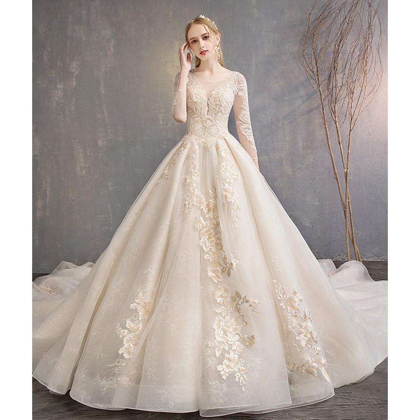 Fishtail Wedding Bridal Dress Gown