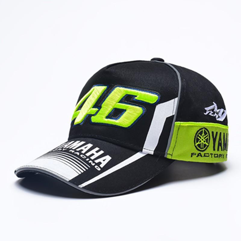 bd23c361e Valentino Rossi Vr46 Vr 46 Moto Gp Motorcycle Cap Baseball Men Yamaha  Cotton Hat