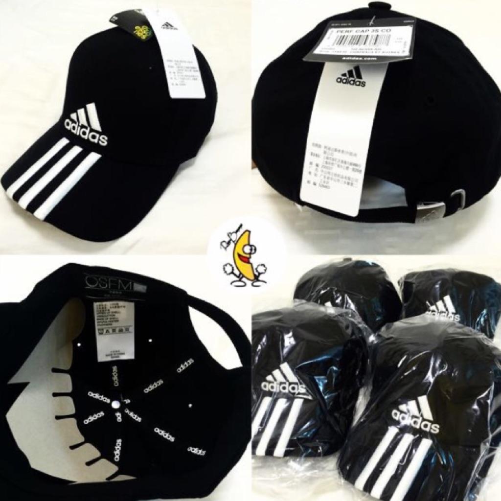 496b9199efc  INSTOCKS  Authentic Adidas 3 Stripes Performance Cap
