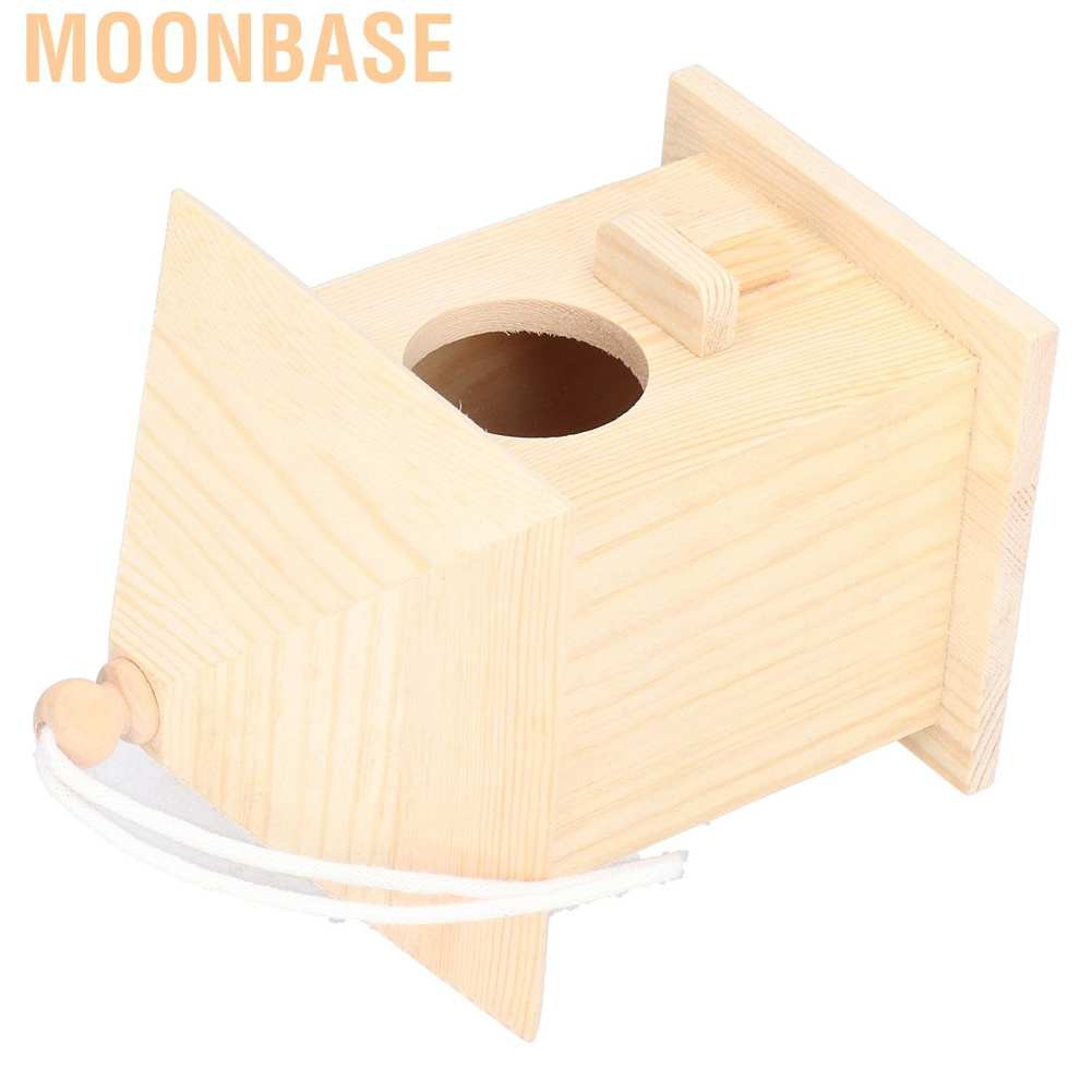 Moonbase Wooden Bird House Feeder Home Pet Garden Supplies Products For Small Animal Lovers Shopee Singapore