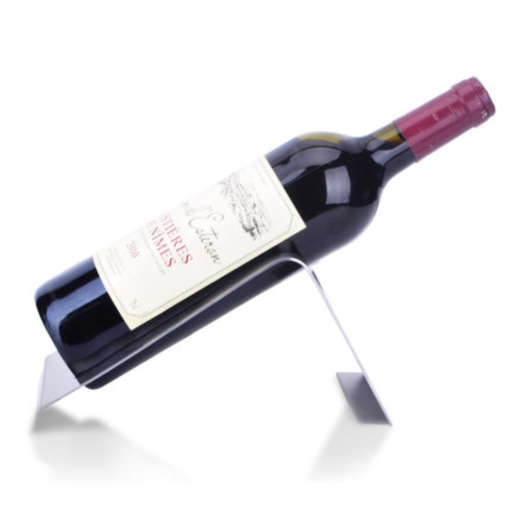 Creative Stainless Steel Wine Rack Bar Table Wine Rack Wine Holder Shopee Singapore