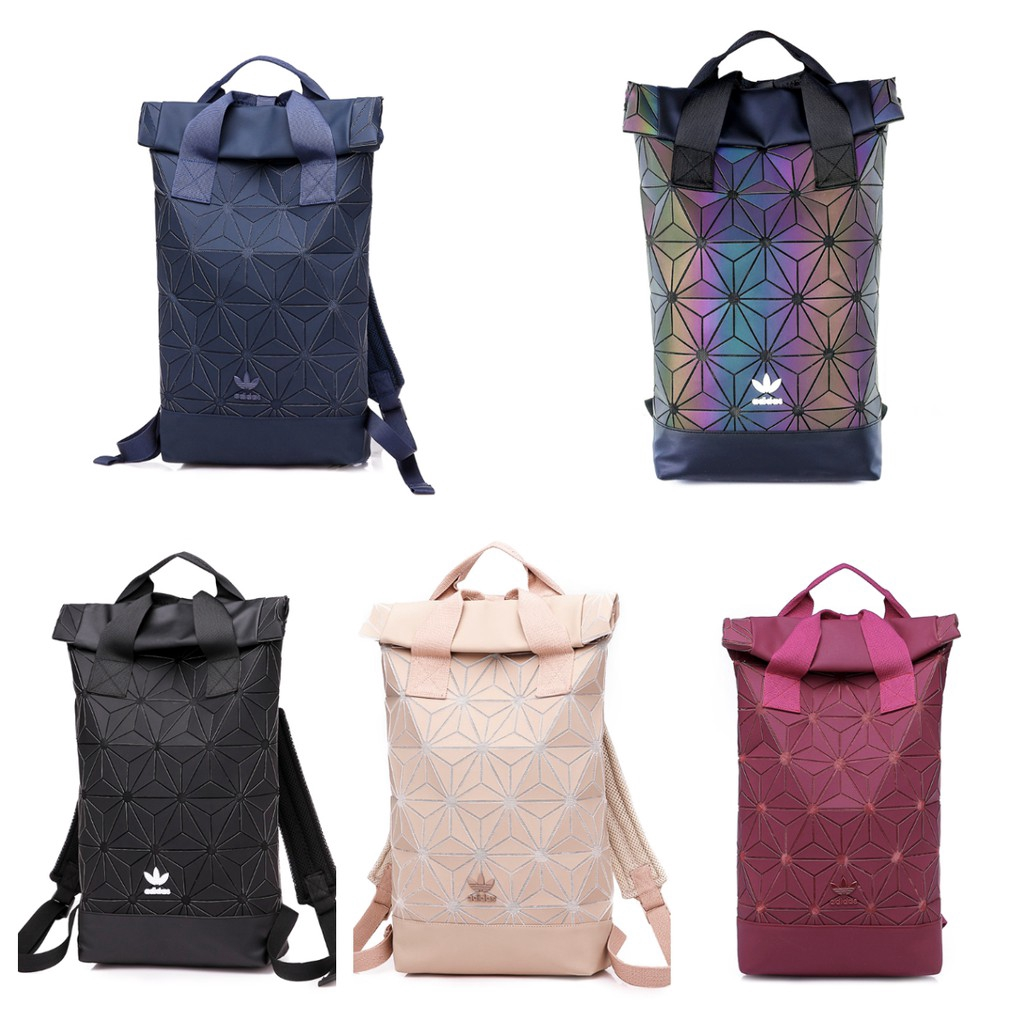50993f734bf3 Double Hand Issey Miyake 3D Urban Mesh Roll Up Black Backpack