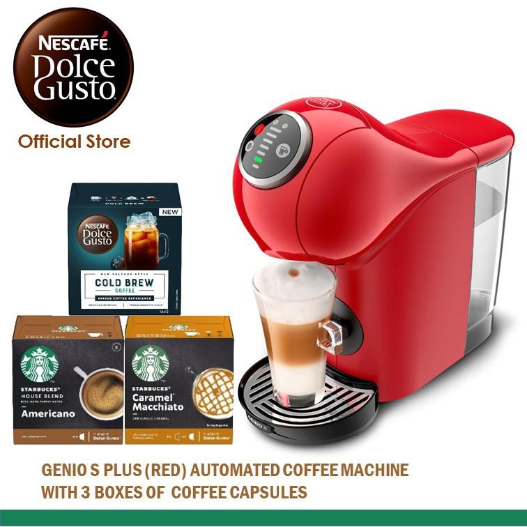 NESCAFE Dolce Gusto Genio S Plus Automatic Coffee Machine With 2