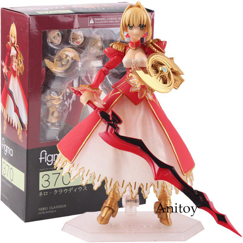 Fate/EXTELLA Nero Claudius Red Saber Doll Figma 370 Action Figure Model Toy