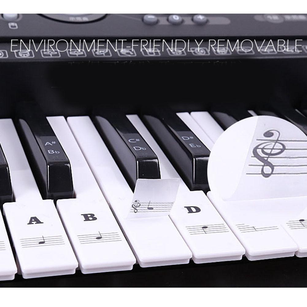 It's just a graphic of Enterprising 61 Key Piano Labeled