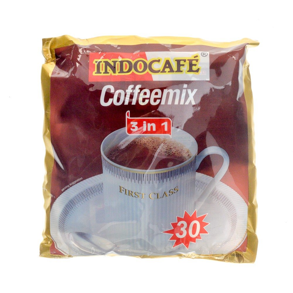 Indocafe 3in1 Coffee Mix 30x20g Shopee Singapore Luwak White Koffie Original 20 Pcs