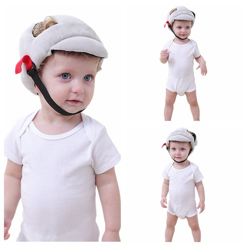 Child Head Protection Pillow Baby Toddler Head Anti-fall Headrest Anti-collision Anti-shock Cap Back Pad Soft And Antislippery Pillow Baby Bedding