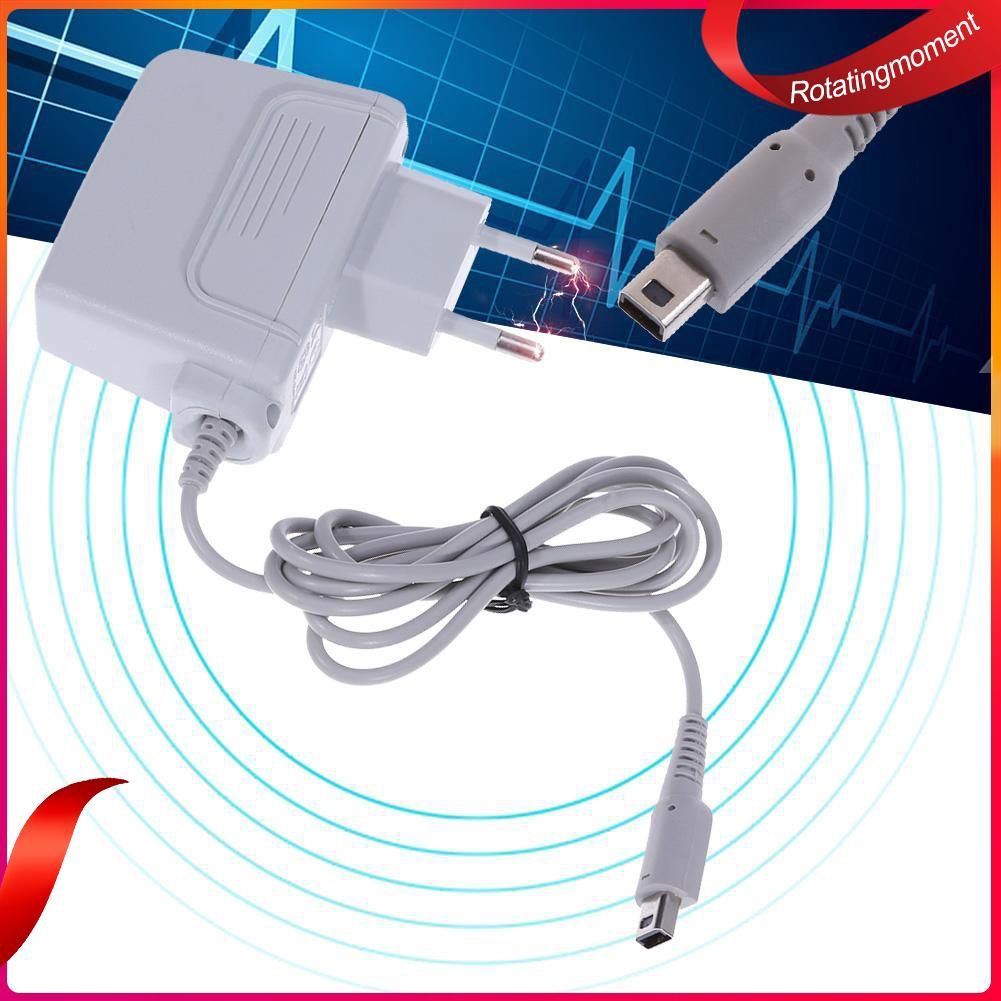 AC Power Adapter Charger for Nintendo 3DS/NDSI/3DSXX Game Console(EU Plug)