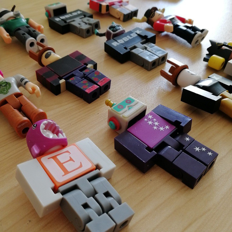 Roblox Building Blocks Action Figure