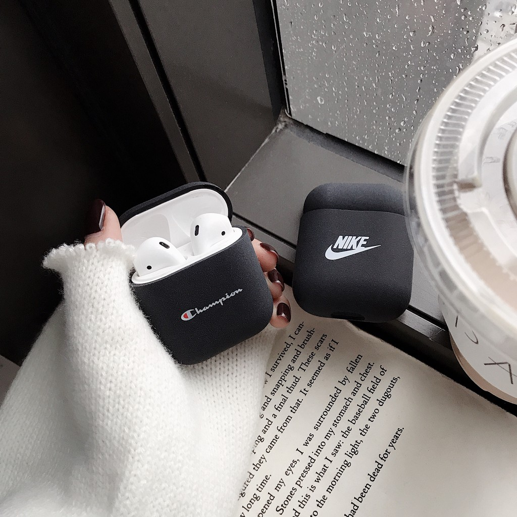 Nike Champion Fashion Simple Hard Case For Airpods Earphone