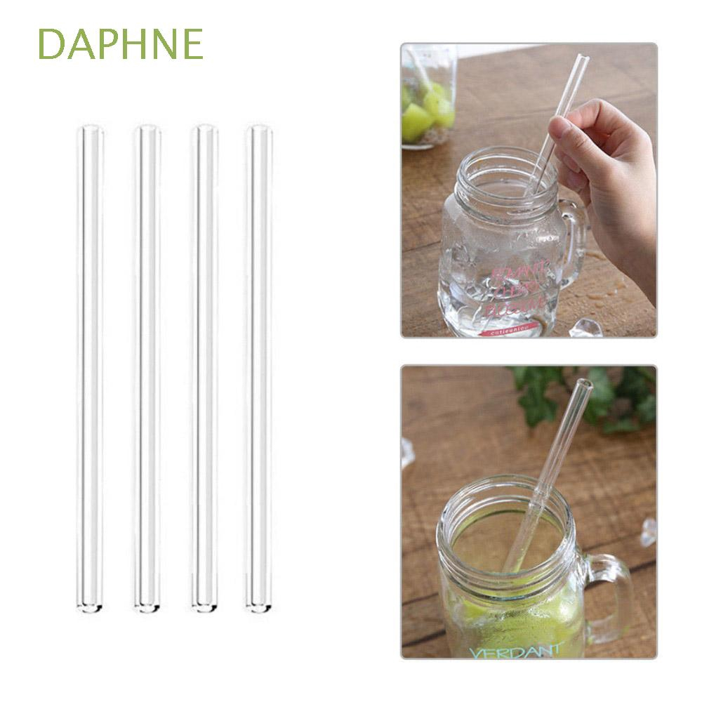 5pcs-Bent Silicone Straws Reusable,5Pcs//Set Drinking Straw with Cleaning Brush Straight Bend Pipette Portable