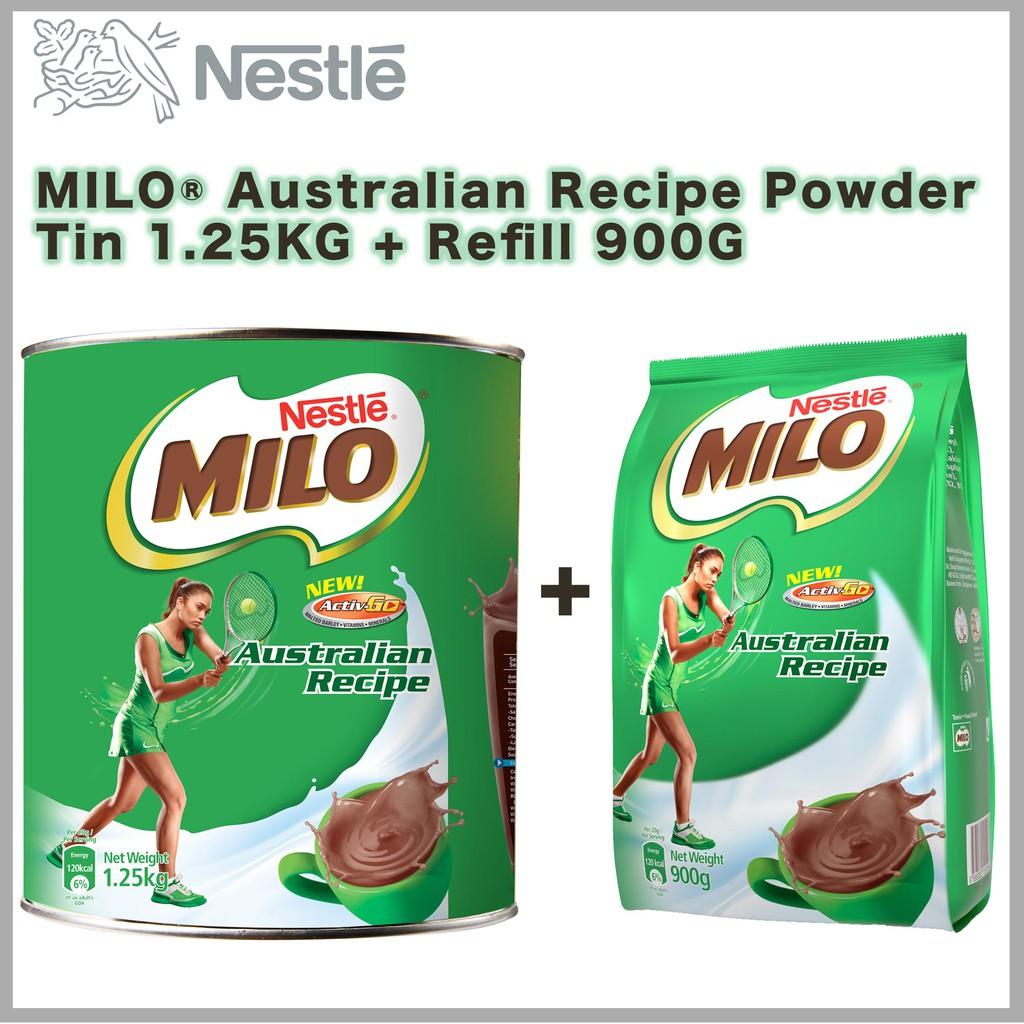 Milo 3in1 Activ Go 2x18x27g Shopee Singapore Active 1kg 1 Kg