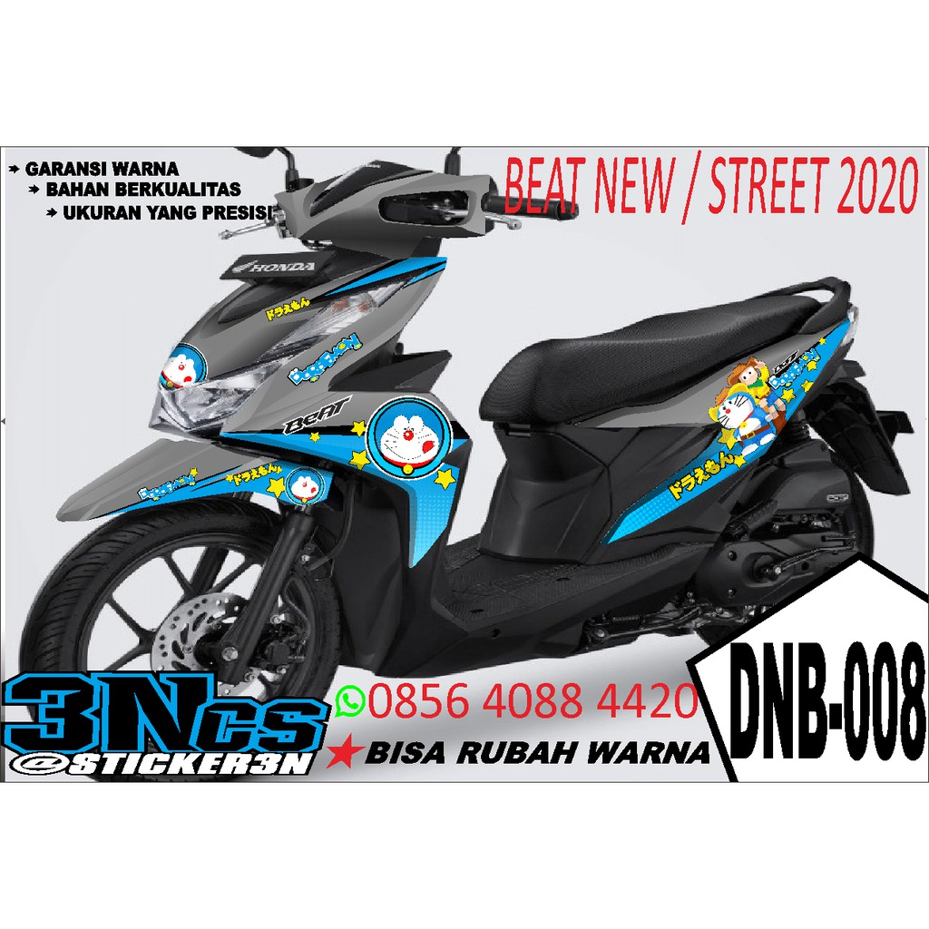 Beat New 2020 Beat Street 2020 Sticker Decal Beat Cbs Iss Beat Deluxe Doraemon Shopee Singapore