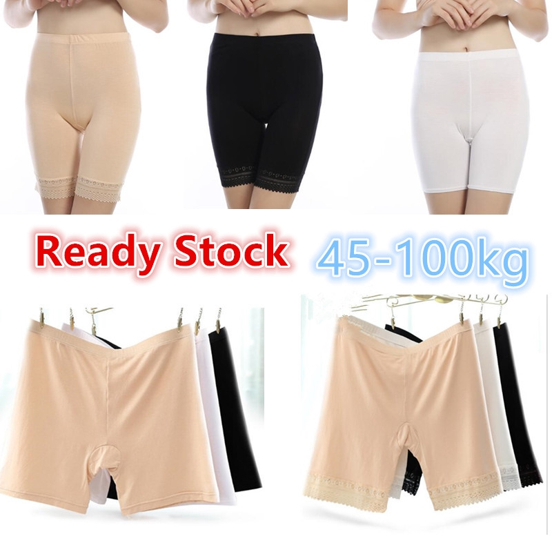 Women/'s Safety Pants Shorts Leggings Seamless Underwear Panties High Waist Plus