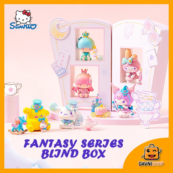 [SG Ready Stock] Sanrio Fantasy Series Blind Box feat Little Twin Star Melody Kuromi PompomPurin Cinnamoroll
