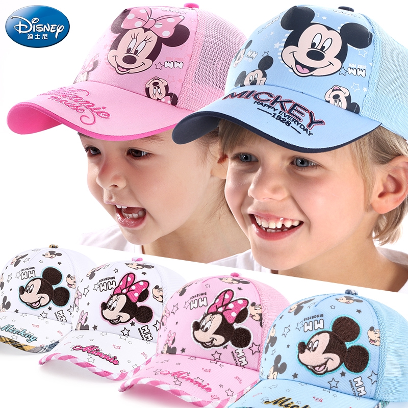 Disney Girls Boys Kids Frozen Baseball Caps Summer Sun Hats