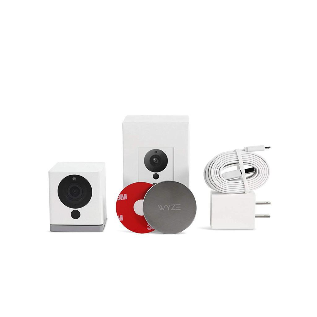 Indoor Wireless Smart Home Camera 1080p Hd 2 Way Audio Works With Alexa Shopee Singapore