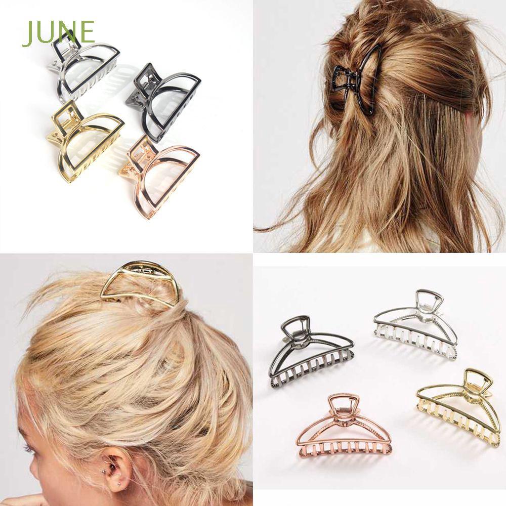 Girl Accessories Bun Maker Hairgrip Metal Women Hair Claw Hairpins