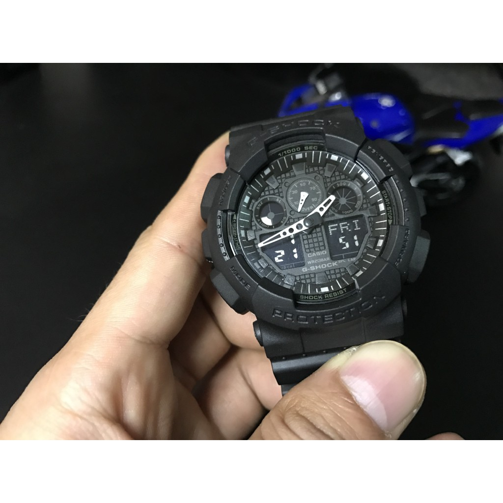 Casio Gshock Price And Deals Watches Dec 2018 Shopee Singapore G Shock Original Ga 100 1a4 Jam Tangan Pria Resin Black