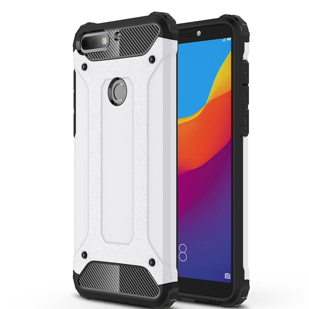 Lenuo Case for Huawei Honor 9 Lite TPU + Hard Plastic Back Cover | Shopee Singapore