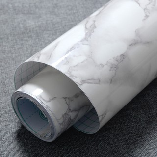 5m Marble Wall Stickers Contact Paper Film Vinyl Self