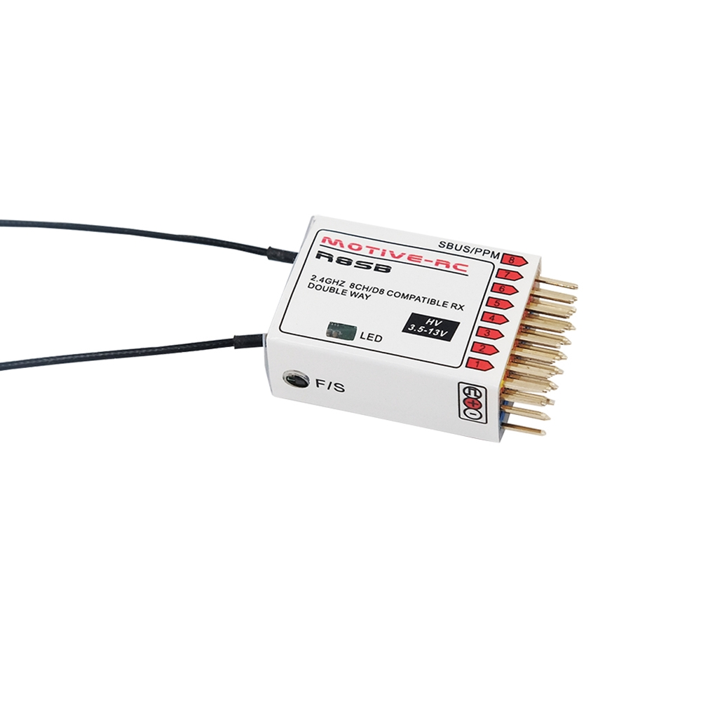 Upgraded Redcon R720x 24g 20ch Dsm2 Dsmx Compatible Micro Receiver X8r Wiring Diagram With Binding Shopee Singapore