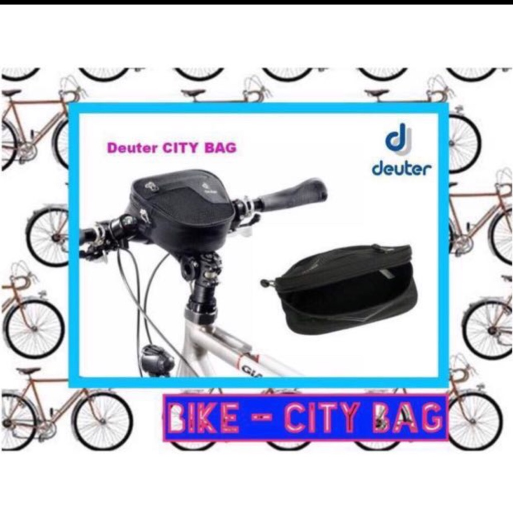 Deuter City Bicycle Handlebar Bag Black