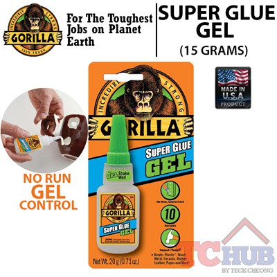 [Gorilla] Super Glue Gel (15g)