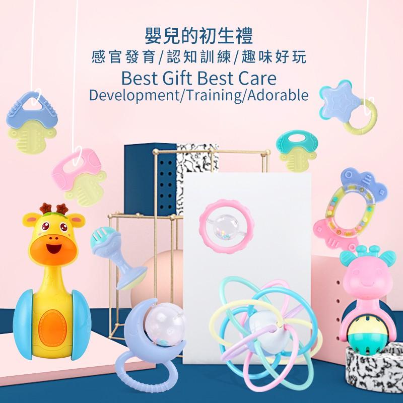Bundle Activity Cute Wrist Rattles  Soft Infant Baby Toy 2019