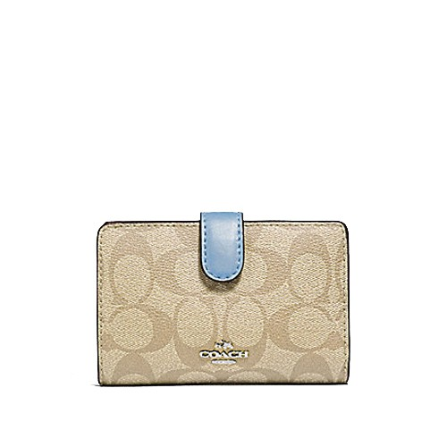 fd2adc14a1b4 Coach Accordion Zip Around Wallet in Pebble Leather   Shopee Singapore