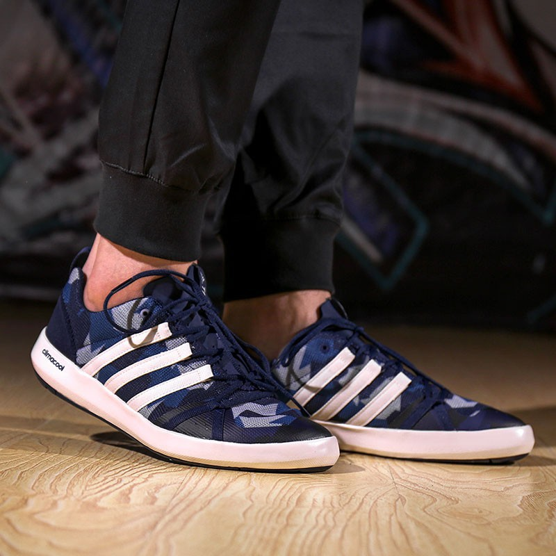the latest 70bca bbcd7 Adidas TERREX CC BOAT GRAPHIC Unisex Aqua Shoes Outdoor Sports Sneakers