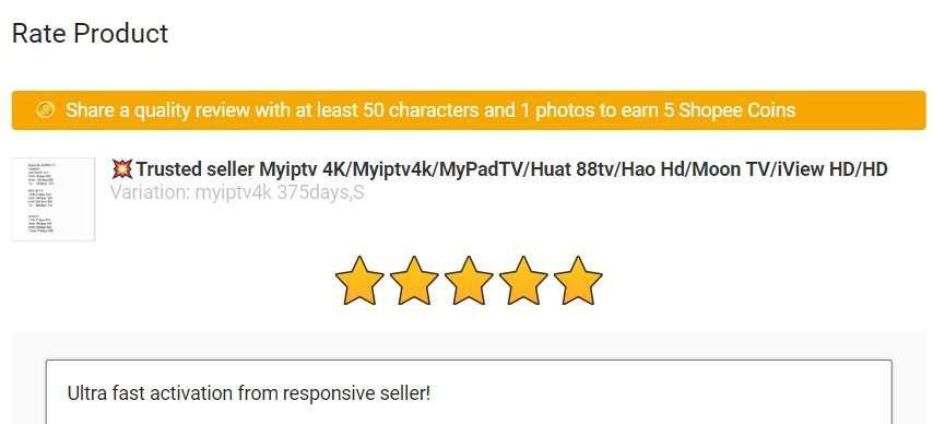 💥Trusted seller Myiptv 4K/Myiptv4k/MyPadTV/Huat 88tv/Hao Hd/Moon TV