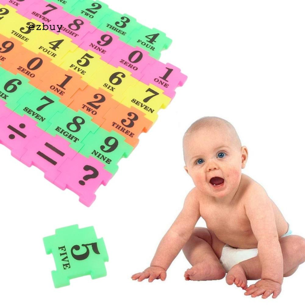 36PC Baby Child Number Symbol Puzzle Foam Maths Educational Toy Gift Amusing Mat