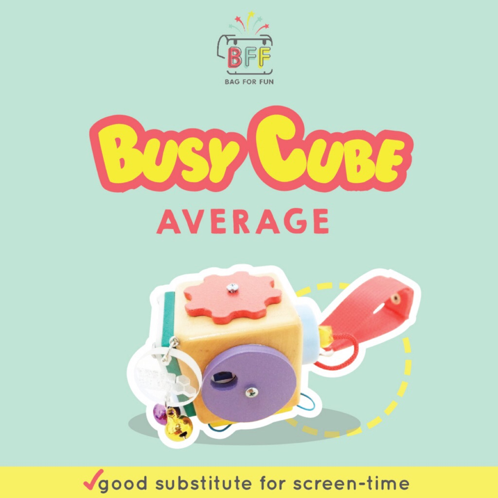 BFF Busy Cube (Average)