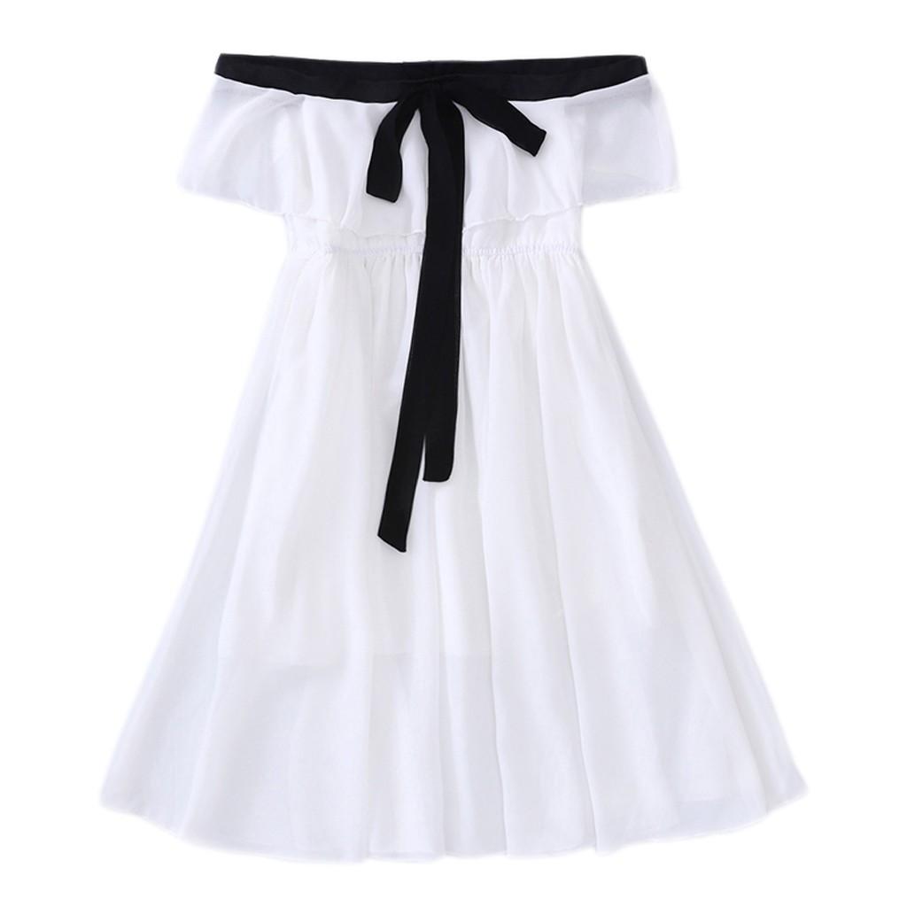 Kids Infants Girl Princess Falbala Off Shoulder Outfits Cute Tops Long Pants Set