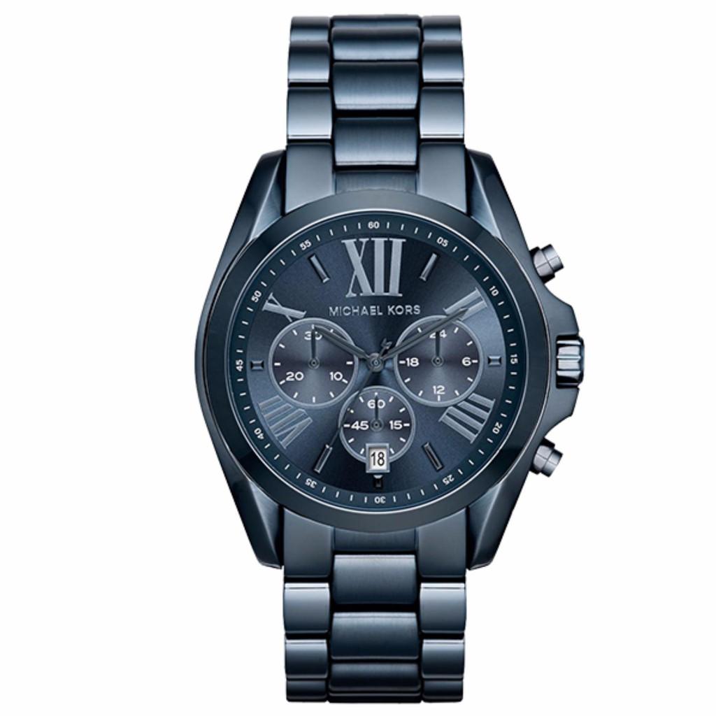 884d576c13d1 Michael Kors Bradshaw Blue Dial Chronograph Men s Watch MK6268 ...