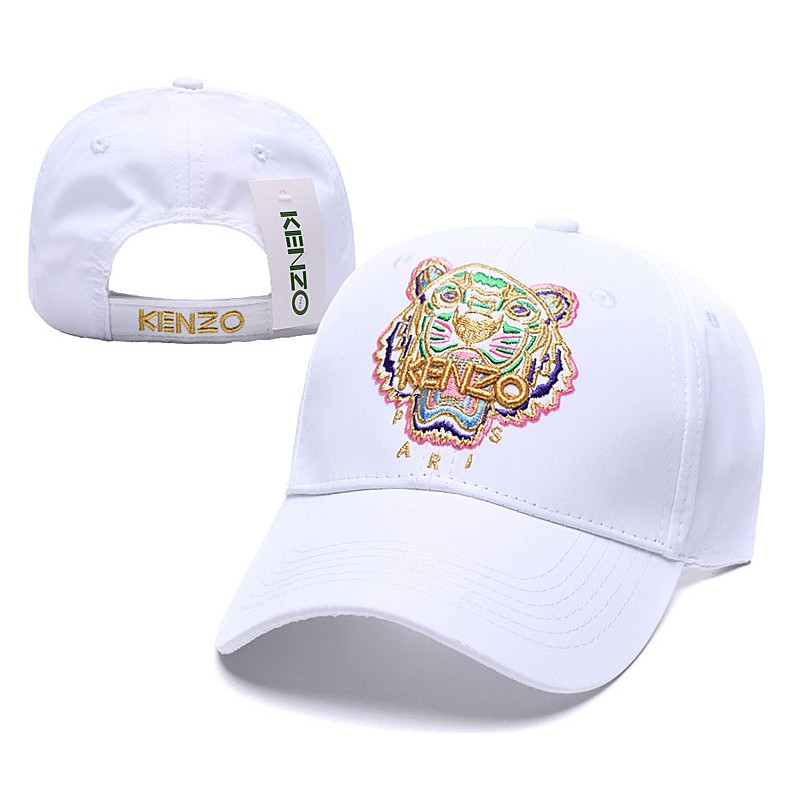 cafd79c14 Kenzo tiger head baseball cap camouflage embroidered sun hat | Shopee  Singapore