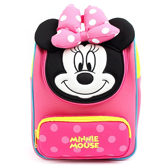 5a92e07375d4 Winghouse - Minnie Mouse Dome Backpack (Pink)
