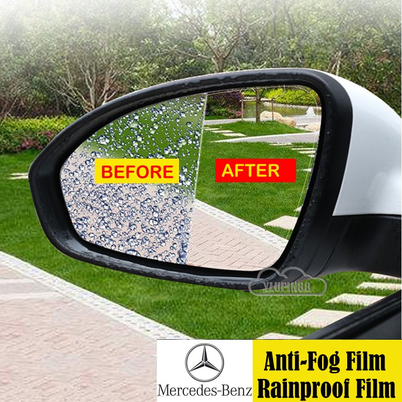 Mercedes Benz Car Side Rearview Mirror, Are Mirrors Waterproof