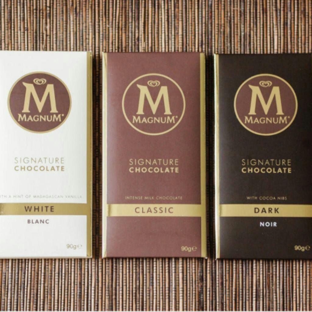 11436c42f Magnum Signature Chocolate - classic milk white dark