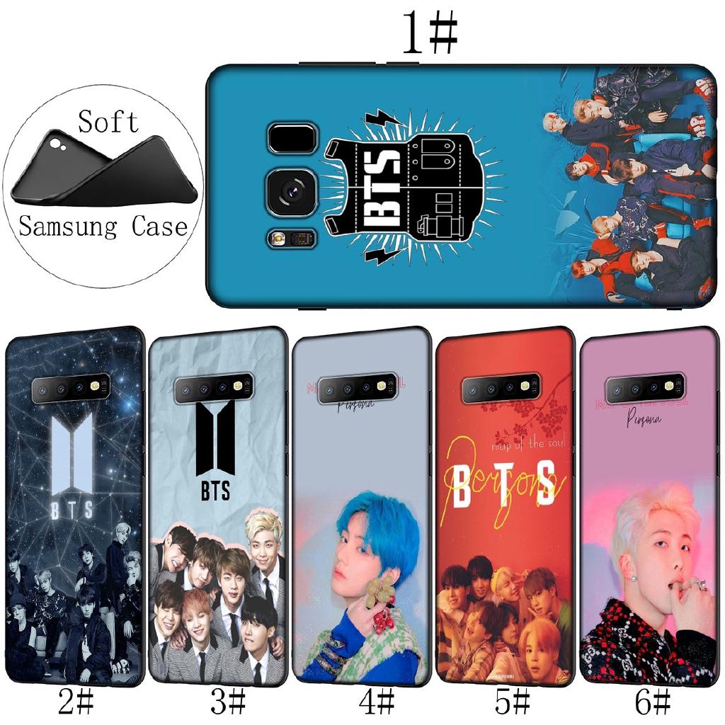 Samsung Galaxy S10 E S8 S9 Plus S7 Soft Cover Bangtan Boys Bts