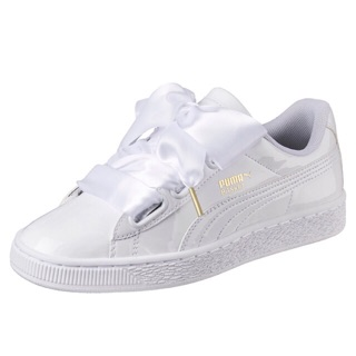 competitive price 2abf7 1f283 Authentic Puma Basket Hearts White / Black | Shopee Singapore