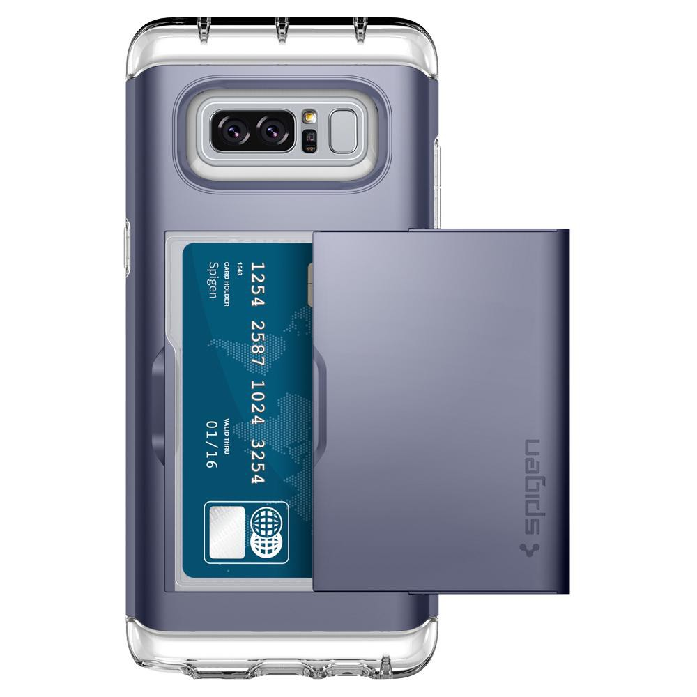 Spigen Samsung Galaxy Note 8 Case Casing Crystal Wallet